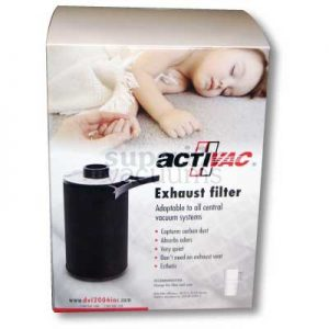 "Exhaust Activac Filter Fits 2"" Central Fitting Or Muffler"