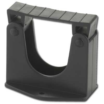 Holder Includes 2 Screws For Wall Mounting Black