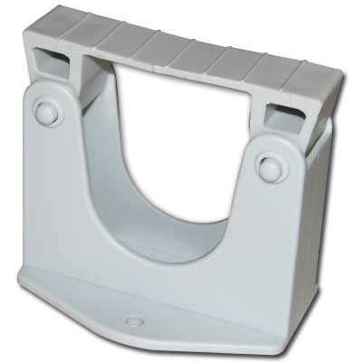 Holder Includes 2 Screws For Wall Mounting Grey