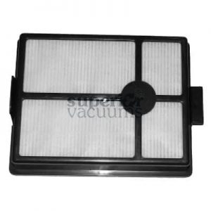 "Hepa Filter E2 Series Older Models No Case Oval Exhaust Hole Prior To Serial # 9280000 7"" X 5 1/2"""