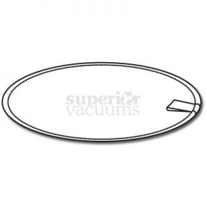 "Cloth Filter Disc 11 1/2"" With Metal Ring And Pull Tab"