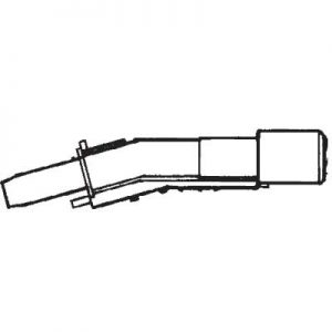 Fixed Pistol Grip Handle For Wire Reinforced Hose Hx850