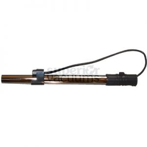 """Hayden Centec Lower Wand With Cord Kenmore Style Female Plug And Standard 2 Pin Male Central Vac Grey 18"""""""