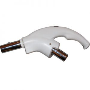 Click Handle With 2 Way Switch To Cannister Hoses White