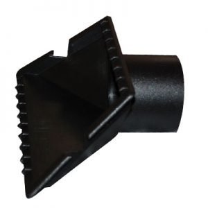 "Tool 2 1/4"" Black To Fit Shopvac Style Vacuums"