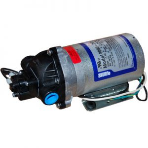 "Pump 100 Psi Epdm Valve, Demand Switch, 3/8"" Npt Female Ports, Self Priming To 8',1.6 Gpm"