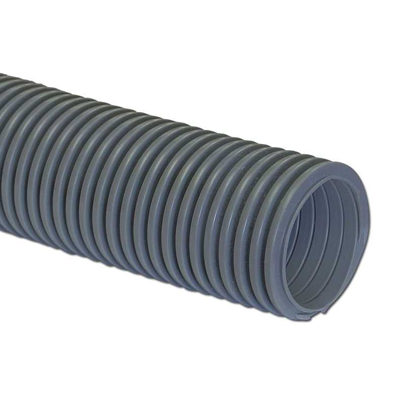 "Hose 50' X 1 1/2"" Grey Crushproof Made In Usa"