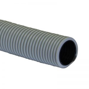 "Air Hose Double Walled 60' X 1 1/4"" Grey With Black Liner Crushproof Made In Usa"