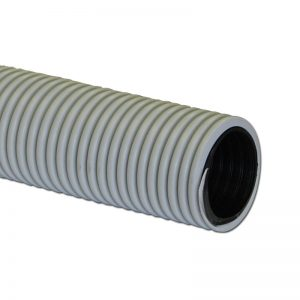 "Air Hose Double Walled 50' X 1 1/2"" Grey With Black Liner Crushproof Made In Usa"