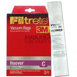 Paper Bag Type C Bottom Fill 3 Pack 3M Fits 618 619 Old Style Convertible