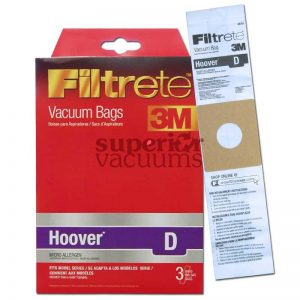 Paper Bag Type D 3 Pack 3M Fits Dialamatic