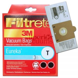 Canister Paper Bag Style T Microlined 3 Pack 970A 972A 972B 3M Kenmore New Style 50401
