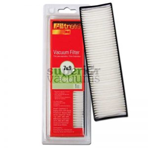 "Exhaust Hepa Filter Style 7 9 Powerglide Powertrak Cleanview Model 3574 3576 3545 82H1 Samsung 5490 5863 7713 3M 7 1/2"" X 2 1/4"""