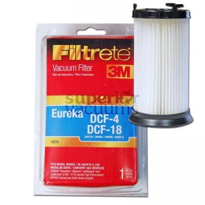 Dcf1 Dcf4 Dcf18 Dust Cup Filter Hepa Fits Model 3690 Bagless Elv5555 3M