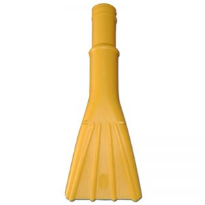 "Upholstery Tool 1 1/2"" Ideal For Car Wash Yellow"