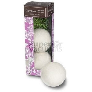 New Tumblers Pure Wool Dryer Balls Pack Of 3 White