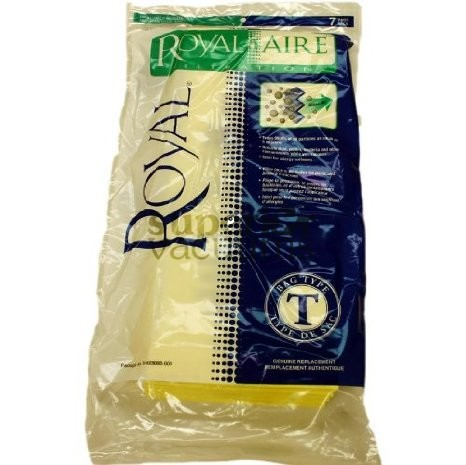 Hoover Paper Bag Type T Micro Fresh 3423002001 Pack Of 7 Model Ry5300 Ry5400 Commercial Upright