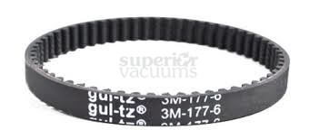 "Geared Belt 440001576 Zen Whisper Canister Sh40060 Sh40080 Sh40065 Hoover Nv Hush Sh40100 1/4"" X 3 7/16"""