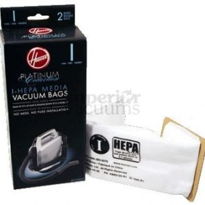 Hepa Bag Type I Platinum 2 Pack Model Sh10000 Sh10010 Portapower