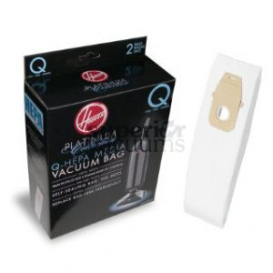 Hepa Bag Type Q Platinum 2 Pack