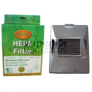 Hepa Exhaust Filter E2 Series With Case Rectangle Exhaust Hole After Serial # 9280000 Newer Models