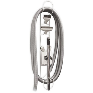 Central Hose Management System For 30 Or 35 Foot Hoses With Clip For Wand And Tool Storage