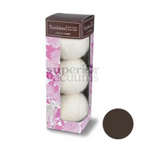 New Tumblers Pure Wool Dryer Balls Pack Of 3 Brown