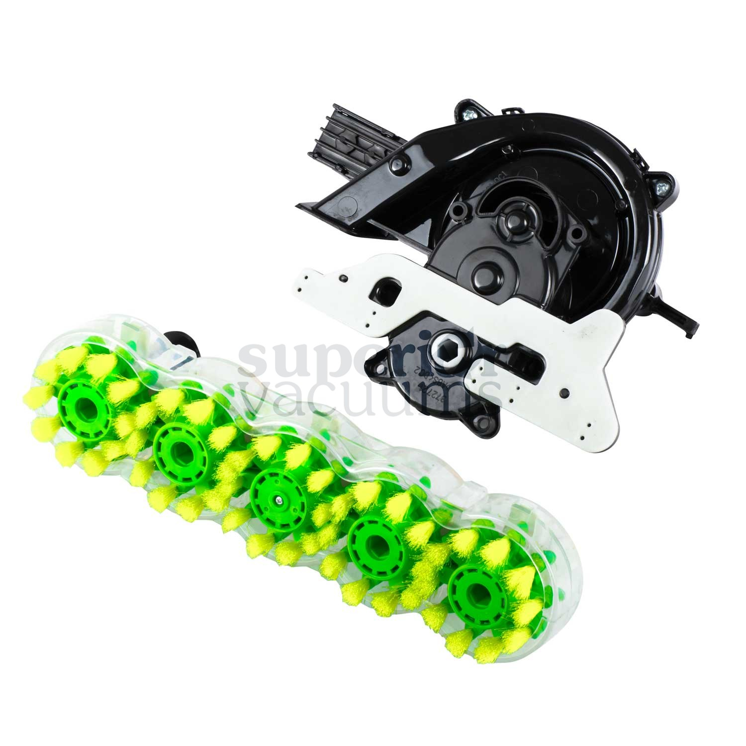 Turbine And Gear Assembly With 5 Brush Block For Steamvac F5914 F5915 F5917 F5918 Fh50045 Fh50046 2 Ports F5912