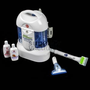 "Spot Scrubber Multi Surface Shampooer Fh10025 Cleans Carpet Upholstery And Hard Surfaces 15' Cord 5' Hose 3"" Upholstery/Carpet Tool 56 Oz. Clean Water Tank 8 Oz. Bottle Of Hardfloor Cleaner And 8 Oz. Bottle Of Deep Cleaning"