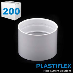 Fitting Stop Coupling White Plastiflex Case Of 200