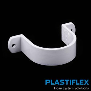 Fitting Pipe Strap White Plastiflex