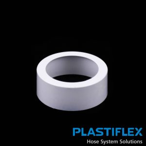 Fitting Floor Mount Adaptor White Plastiflex