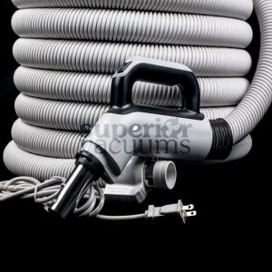 Central Combo Hose Gas Pump Handle Hi-Low 3 Way Switch 35Mm X 10M Crushproof Light Grey Button Lock Tube