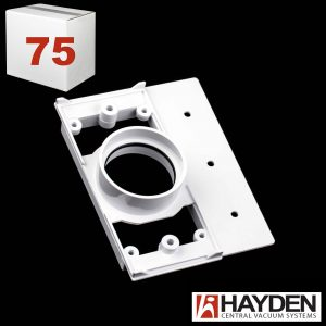 Back Plate With Seal White Plastic Most Popular Case 75 Hayden Vaculine