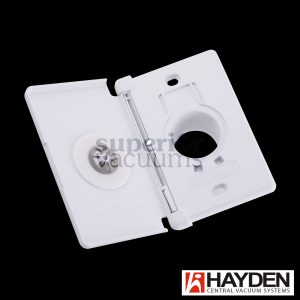 Valve Full Door Sideways Open White Hayden (24 In A Case)