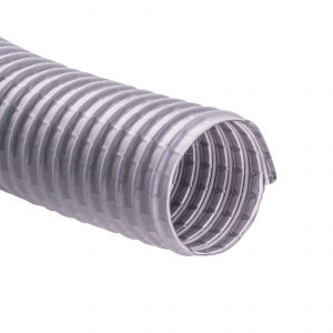 "Vacuflex 50' X 2"" Wire Reinforced Grey"
