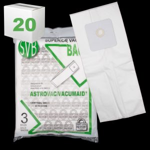 Astrovac Dustlock Bag Multi-Ply 12 Gallon 3 Pack Svb Case Of 20