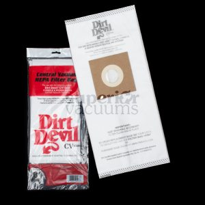 Devil Made For Hp Vacuum Hepa Bag 3 Pack Model Rv2000 Rv1500 Cv950 Cv1500 Maxum Rv Vac In A Box 3 Layer Electrostatic