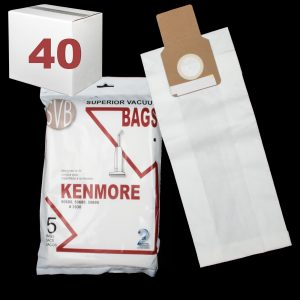 Paper Bag 2 Ply 5 Pack Fits Upright Model 50688 50680 50690 5050 50510 Svb Case Of 40