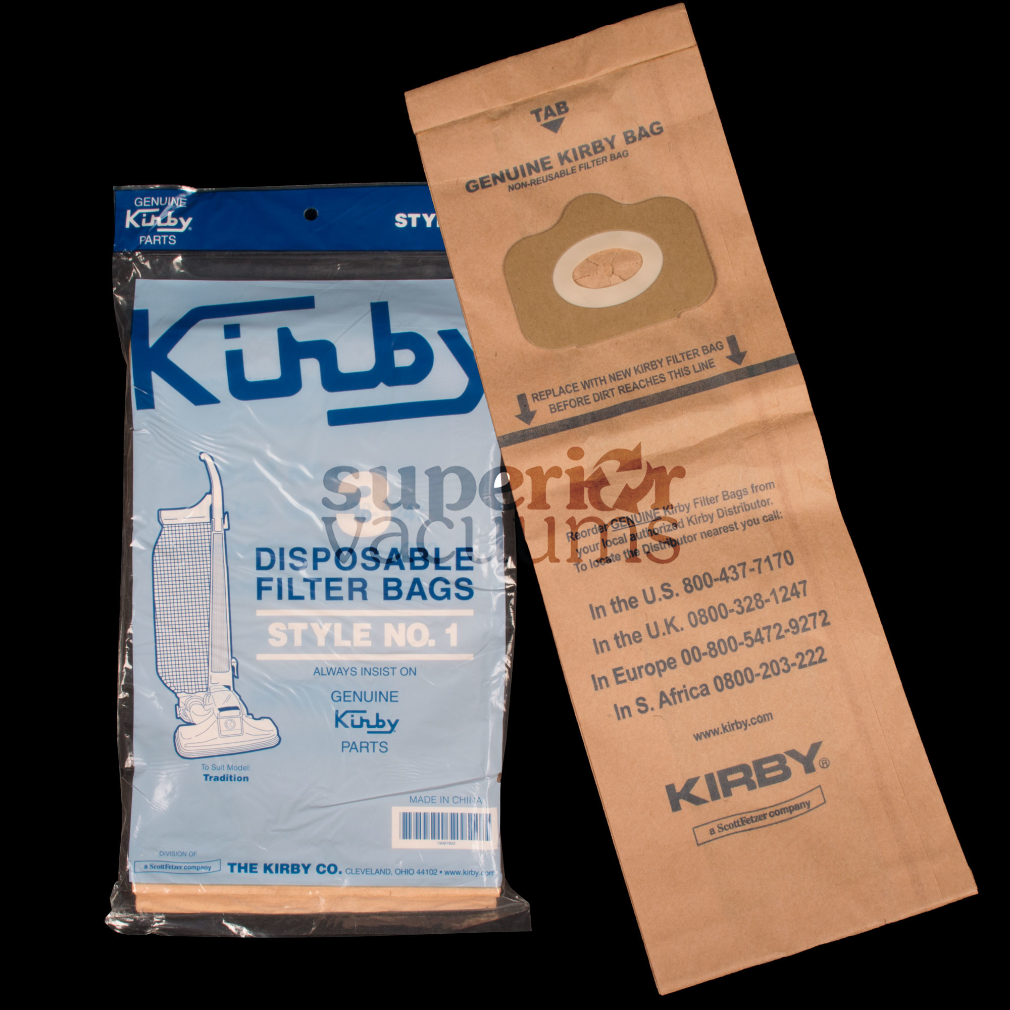 Paper Bag 3 Pack Style 1 Traditional