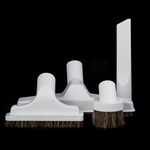 "Set 4 Piece Bare Floor With 10"" Floor Brush And Basic Tools 500G Light Grey"
