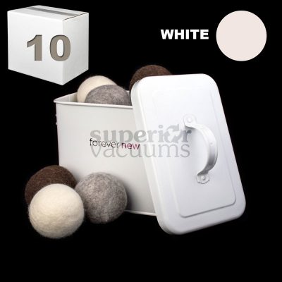 New Tumblers Pure Wool Dryer Ball Loose Sold In Lots Of 10 - White