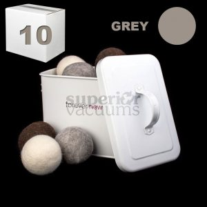 New Tumblers Pure Wool Dryer Ball Loose Sold In Lots Of 10 - Grey