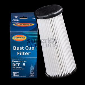 Dcf5 For Kenmore Upright Quickclean K37000 Dirt Cup