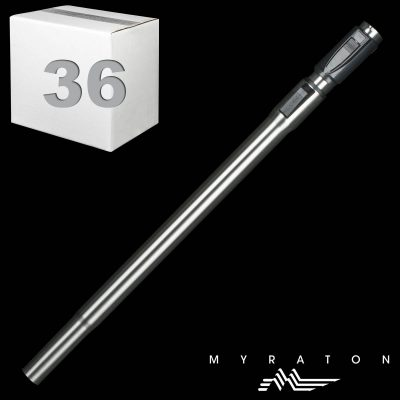 """Steel Telescopic Wand Friction Fit With Button Hole At Top 1 1/4"""" X 23"""""""