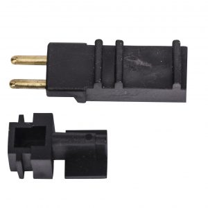 Direct Connect Plug 2 Pin Male For Combo Hose Conversion Black Hanmi 2 Parts