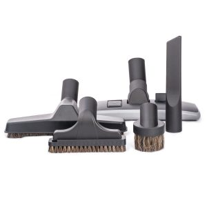 """Set 5 Piece With 11"""" Combo Tool 10"""" Floor Brush And Basic Tools 500 Black"""