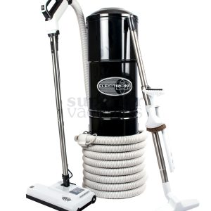 Central Vacuum And Sebo Kit Black Hybrid With Dustlock Bag And Filter  2 stage