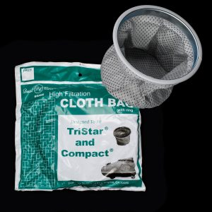 Tristar Cloth Bag With Metal Ring