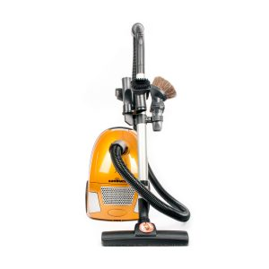 Sunburst Canister Vacuum 10 Amp Hepa And Post Filter Aluminum Telescopic Wand With On Board Tools Floor Tool 2 Year Warranty